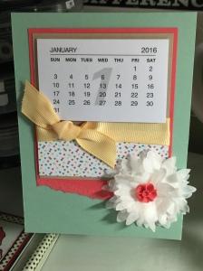 your class calendar