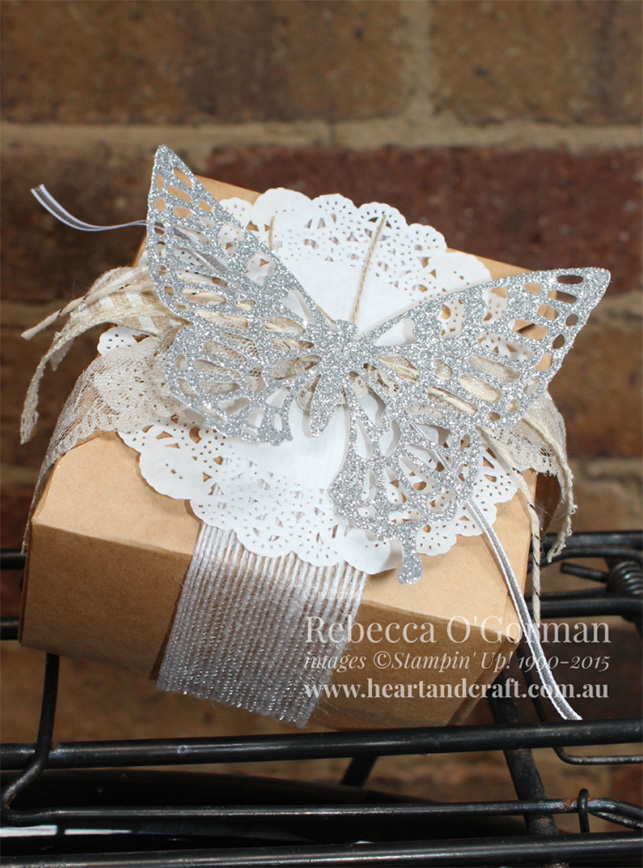 Craft hand made gift box